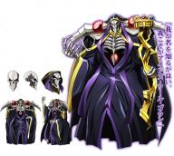 character:ainz_ooal_gown character:lich copyright:overlord_(maruyama) general:cloak general:concept_art general:gradient general:gradient_background general:hood general:no_skin general:pauldrons general:simple_background general:skeleton metadata:official_art metadata:tagme tagme technical:grabber // 1126x1014 // 1.1MB