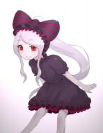 artist:disco_brando character:shalltear_bloodfallen copyright:overlord_(maruyama) general:1girl general:adapted_costume general:bow general:dress general:fang general:fang_out general:frilled_dress general:frills general:gothic_lolita general:hairband general:leaning_forward general:lolita_fashion general:lolita_hairband general:long_hair general:looking_at_viewer general:no_nose general:red_eyes general:ribbon-trimmed_clothes general:ribbon_trim general:short_dress general:silver_hair general:smile general:solo general:vampire general:very_long_hair tagme technical:grabber // 733x948 // 349.0KB