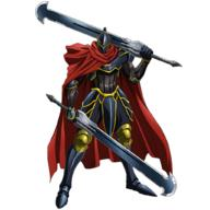 technical:grabber unknown:1boy unknown:Ainz_Ooal_Gown unknown:Armor unknown:momon_(overlord) unknown:official_art unknown:overlord_(maruyama) unknown:simple_background unknown:sword unknown:weapon // 1024x1024 // 527.9KB