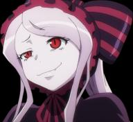 character:shalltear_bloodfallen copyright:overlord_(maruyama) general:1girl general:face general:fang general:lavender_hair general:long_hair general:red_eyes general:smile general:smug general:vampire metadata:screencap metadata:tagme metadata:transparent_background tagme technical:grabber // 784x720 // 972.0KB