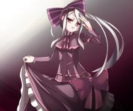 character:shalltear_bloodfallen copyright:overlord_(maruyama) general:1girl general:bonnet general:bow general:dress general:female general:gothic_lolita general:hwzb4723 general:lolita_fashion general:long_hair general:red_eyes general:silver_hair general:solo tagme technical:grabber // 600x500 // 227.1KB