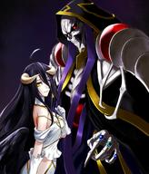 artist:kurofuti artist:pixiv_id_878789 character:ainz_ooal_gown character:albedo copyright:overlord copyright:overlord_(maruyama) general:1boy general:1girl general:ahoge general:black_hair general:black_wings general:breasts general:demon_girl general:dress general:female general:gloves general:hair_between_eyes general:hip_vent general:horns general:jewelry general:kppp18 general:large_breasts general:long_hair general:male general:red_eyes general:ring general:robe general:sideboob general:skeleton general:skull general:white_dress general:white_gloves general:wings general:yellow_eyes medium:high_resolution technical:grabber // 1026x1200 // 1.3MB