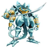technical:grabber unknown:Armor unknown:Solo unknown:black_background unknown:blue_theme unknown:cocytus_(overlord) unknown:commentary_request unknown:extra_arms unknown:fewer_digits unknown:full_body unknown:hands_on_hilt unknown:hands_together unknown:holding unknown:holding_sword unknown:holding_weapon unknown:looking_at_viewer unknown:no_humans unknown:official_art unknown:overlord_(maruyama) unknown:pauldrons unknown:polearm unknown:red_eyes unknown:shoulder_armor unknown:simple_background unknown:sword unknown:weapon // 1024x1024 // 496.9KB
