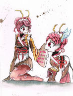 technical:grabber unknown:Entoma unknown:MyLittlePonyFriendshipisMagic unknown:OVERLORD unknown:Watercolour unknown:mylittlepony unknown:エントマ・ヴァシリッサ・ゼータ unknown:マイリトルポニー〜トモダチは魔法 // 2409x3141 // 1.1MB