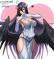 artist:gtunver character:albedo copyright:overlord_(maruyama) general:1girl general:armpits general:black_wings general:breasts general:demon_girl general:demon_horns general:detached_collar general:english_text general:engrish_text general:gloves general:heart general:heart_hands general:hip_vent general:horns general:large_breasts general:long_hair general:looking_at_viewer general:low_wings general:purple_hair general:ranguage general:smile general:solo general:white_gloves general:wings general:yellow_eyes meta:highres meta:md5_mismatch technical:grabber // 1800x1940 // 1.5MB
