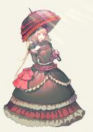 artist:luviantree character:shalltear_bloodfallen copyright:overlord_(maruyama) general:1girl general:black_dress general:blonde general:bow general:dress general:drill_hair general:fang general:female general:frilled_dress general:frills general:gothic general:gothic_lolita general:hair_bow general:hair_ornament general:hand_on_chest general:hand_on_own_chest general:holding general:holding_umbrella general:lolita_fashion general:long_hair general:open_mouth general:parasol general:red_eyes general:smile general:solo general:umbrella general:vampire medium:high_resolution medium:very_high_resolution technical:grabber // 2480x3508 // 1.6MB