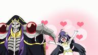 artist:gyess963 character:ainz_ooal_gown character:albedo copyright:madhouse copyright:overlord_(maruyama) general:>_< general:ahoge general:animated general:armor general:bare_shoulders general:black_wings general:blush general:breasts general:chibi general:demon_girl general:detached_collar general:dress general:elbow_gloves general:eyes_closed general:fringe general:girl general:gloves general:hair_between_eyes general:happy general:heart general:hood general:horn_(horns) general:long_hair general:looking_away general:looking_back general:low_wings general:mantle general:open_mouth general:purple_hair general:red_eyes general:saliva general:simple_background general:skeleton general:spaulder_(spaulders) general:spread_arms general:standing general:undead general:upper_body general:white_background general:white_dress general:white_gloves general:wide_image general:wings tagme technical:grabber // 800x450 // 678.0KB