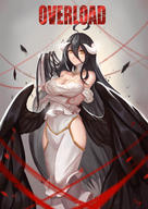 artist:sunset_xi artist:wyx83253953 character:albedo copyright:overlord_(maruyama) general:1girl general:ahoge general:arms_under_breasts general:bare_shoulders general:black_hair general:black_wings general:breast_hold general:breasts general:cleavage general:demon_girl general:demon_horns general:dress general:elbow_gloves general:female general:gloves general:hair_between_eyes general:half_gloves general:hip_vent general:horns general:large_breasts general:long_hair general:looking_at_viewer general:solo general:thighhighs general:thighs general:white_dress general:white_gloves general:wings general:yellow_eyes medium:high_resolution medium:very_high_resolution technical:grabber // 2480x3508 // 569.7KB