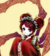 character:entoma_vasilissa_zeta copyright:overlord_(maruyama) general:1girl general:double_bun general:fang general:frills general:hair_bun general:insect_girl general:kimono general:long_sleeves general:maid general:maid_headdress general:monster_girl general:purple_eyes general:purple_hair general:ribbon general:simple_background general:sleeves_past_wrists general:solo metadata:artist_request metadata:highres technical:grabber // 1676x1848 // 2.2MB
