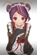 character:entoma_vasilissa_zeta copyright:overlord_(maruyama) general:1girl general:antennae general:dress general:female general:gm4271 general:insect_girl general:kimono general:maid general:maid_headdress general:purple_hair general:short_hair general:solo general:wa_maid general:wafuku general:wide_sleeves genre:monster_girl medium:simple_background technical:grabber // 768x1109 // 460.2KB