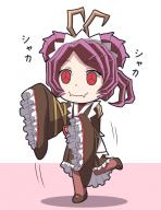 artist:kyuutouryuu character:entoma_vasilissa_zeta copyright:overlord_(maruyama) general:1girl general:antennae general:chibi general:dress general:female general:frilled_kimono general:insect_girl general:kimono general:long_sleeves general:maid general:maid_headdress general:pantyhose general:short_hair general:sleeves_past_wrists general:solo general:wa_maid general:wafuku general:wide_sleeves genre:monster_girl tagme technical:grabber // 600x776 // 223.3KB