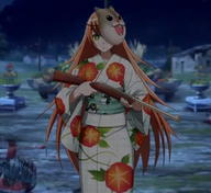 technical:grabber unknown:1girl unknown:Solo unknown:cz2128_delta unknown:green_eyes unknown:hamster_mask unknown:japanese_clothes unknown:kimono unknown:mask unknown:overlord_(maruyama) unknown:print_kimono unknown:toy_gun // 633x579 // 202.5KB