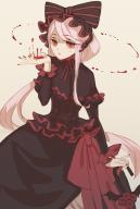 character:shalltear_bloodfallen copyright:overlord_(maruyama) general:1girl general:blood general:blood_on_hands general:bonnet general:bow general:dress general:fingernails general:frills general:gothic general:gothic_lolita general:hair_bow general:hair_ornament general:knightash general:lolita_fashion general:long_hair general:looking_at_viewer general:red_eyes general:red_fingernails general:ribbon general:sidelocks general:solo general:vampire general:white_hair medium:high_resolution tagme technical:grabber // 1181x1748 // 1.0MB