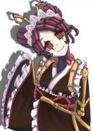 character:entoma_vasilissa_zeta copyright:overlord_(maruyama) general:1girl general:antennae general:apron general:female general:frills general:insect_girl general:long_sleeves general:looking_at_viewer general:maid general:maid_apron general:maid_headdress general:maid_kimono general:red_eyes general:red_hair general:sleeves_past_wrists general:smile general:solo general:wa_maid general:wide_sleeves genre:monster_girl medium:high_resolution technical:grabber // 1191x1663 // 1.6MB