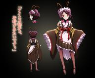 character:entoma_vasilissa_zeta copyright:overlord copyright:overlord_(maruyama) general:1girl general:antennae general:fangs general:female general:gradient general:lolita_fashion general:long_sleeves general:maid_headdress general:purple_hair general:red_eyes general:shoes general:slip-on_shoes general:stockings general:wa_lolita medium:character_sheet medium:gradient_background medium:japanese_language medium:japanese_text medium:official_art medium:text technical:grabber // 860x710 // 1.0MB