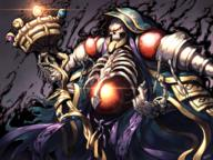 character:ainz_ooal_gown copyright:overlord_(maruyama) general:1boy general:1girl general:gem general:glowing general:glowing_eyes general:holding general:holding_staff general:hood general:hood_up general:jewelry general:red_eyes general:ring general:skeleton general:skull general:solo general:staff general:totocos7 metadata:commentary_request metadata:highres tagme technical:grabber // 2048x1536 // 5.5MB