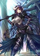 artist:adsouto character:albedo copyright:overlord copyright:overlord_(maruyama) general:1girl general::d general:ahoge general:armor general:armored_boots general:axe general:black_cape general:black_pants general:boobplate general:boots general:breastplate general:breasts general:breasts_apart general:cape general:covered_navel general:female general:floating_hair general:gauntlets general:hair_between_eyes general:hand_on_hilt general:holding general:holding_axe general:horns general:large_breasts general:long_hair general:open_mouth general:over_shoulder general:pants general:purple_hair general:sexy_pose general:shoulder_armor general:slit_pupils general:smile general:solo general:spaulders general:standing general:sunlight general:very_long_hair general:waist_cape general:weapon general:weapon_over_shoulder general:yellow_eyes medium:artist_name medium:high_resolution technical:grabber // 1240x1754 // 2.2MB