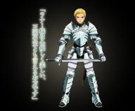 character:climb_(overlord) copyright:overlord copyright:overlord_(maruyama) general:1boy general:armor general:blonde general:blue_eyes general:breastplate general:frown general:gauntlets general:gradient general:looking_at_viewer general:male general:sword general:weapon medium:character_sheet medium:gradient_background medium:japanese_language medium:japanese_text medium:official_art medium:text tagme technical:grabber // 860x710 // 1.1MB