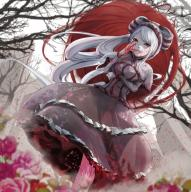 character:shalltear_bloodfallen copyright:overlord_(maruyama) general:1girl general:blood general:bonnet general:bow general:dress general:female general:frilled_dress general:frills general:gothic_lolita general:lolita_fashion general:long_hair general:looking_at_viewer general:peropicnic general:red_eyes general:silver_hair general:solo medium:1:1_aspect_ratio tagme technical:grabber // 1095x1096 // 2.0MB