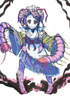 character:entoma_vasilissa_zeta copyright:overlord_(maruyama) general:1girl general:antennae general:bug general:double_bun general:fang general:frills general:hair_bun general:insect general:kimono general:long_sleeves general:maid general:maid_apron general:maid_headdress general:mary_janes general:monster_girl general:purple_hair general:red_eyes general:ribbon general:skirt general:sleeves_past_wrists general:solo metadata:absurdres metadata:artist_request metadata:highres tagme technical:grabber // 4159x5681 // 4.6MB