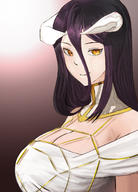 character:albedo technical:grabber unknown:OVERLORD unknown:オーバーロード(アニメ) // 900x1250 // 820.1KB