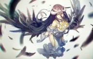 character:albedo copyright:overlord_(maruyama) general:1girl general:brown_hair general:feather general:female general:female_only general:horns general:long_hair general:solo general:very_long_hair general:wings general:yellow_eyes metadata:tagme technical:grabber // 1600x1023 // 1.4MB