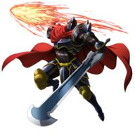 technical:grabber unknown:1boy unknown:Ainz_Ooal_Gown unknown:Armor unknown:momon_(overlord) unknown:official_art unknown:overlord_(maruyama) unknown:simple_background unknown:sword unknown:weapon // 1024x1024 // 669.7KB