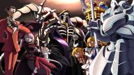 character:ainz_ooal_gown character:albedo character:demiurge character:shalltear_bloodfallen copyright:overlord_(maruyama) general:3girls general:5boys general:black_hair general:blonde general:female general:heterochromia general:long_hair general:male general:multiple_boys general:multiple_girls general:reverse_trap general:short_hair general:trap general:white_hair medium:16:9_aspect_ratio medium:high_resolution technical:grabber // 2880x1620 // 1.2MB
