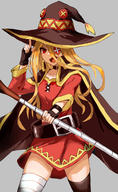 general:cosplay technical:grabber unknown:1girl unknown:EvilEye unknown:Solo unknown:artist_request unknown:blonde_hair unknown:highres unknown:kono_subarashii_sekai_ni_shukufuku_wo! unknown:megumin_(cosplay) unknown:overlord_(maruyama) unknown:red_eyes unknown:tagme // 1032x1684 // 1.0MB