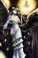 artist:jeffrey10 character:albedo copyright:overlord_(maruyama) general:1girl general:black_hair general:dress general:elbow_gloves general:gloves general:holding general:indoors general:long_hair general:looking_at_viewer general:solo general:white_dress general:white_gloves general:yellow_eyes meta:absurdres meta:highres tagme technical:grabber // 3543x5314 // 1.1MB