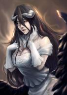 character:albedo copyright:overlord_(maruyama) general:black_hair general:chua_weichong general:dress general:gloves general:horns general:long_hair general:wings general:yellow_eyes medium:high_resolution medium:very_high_resolution tagme technical:grabber // 1915x2688 // 2.7MB