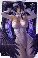 Mangaka:OlchaS Series:Overlord character:albedo technical:grabber // 600x900 // 408.4KB