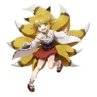 technical:grabber unknown:1girl unknown:Solo unknown:animal_ears unknown:blonde_hair unknown:fang unknown:fox_ears unknown:fox_girl unknown:fox_tail unknown:green_eyes unknown:japanese_clothes unknown:kyukitsune unknown:multicolored_hair unknown:official_art unknown:overlord_(maruyama) unknown:sandals unknown:smile unknown:tagme unknown:tail unknown:transparent_background // 1024x1024 // 581.7KB
