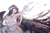 artist:calder character:albedo copyright:overlord general:breasts general:cleavage general:demon general:horns general:long_hair general:wings tagme technical:grabber // 1827x1200 // 888.3KB