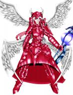 character:shalltear_bloodfallen copyright:overlord_(maruyama) general:1girl general:armor general:armored_dress general:gauntlets general:greaves general:hair_between_eyes general:helmet general:multiple_wings general:red_eyes general:shoulder_armor general:simple_background general:solo general:weapon general:white_hair general:wings metadata:absurdres metadata:artist_request metadata:highres tagme technical:grabber // 2634x3432 // 1.5MB