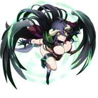character:albedo general:cosplay technical:grabber unknown:1girl unknown:Armor unknown:Solo unknown:black_hair unknown:breasts unknown:cape unknown:closed_mouth unknown:demon_girl unknown:full_body unknown:horns unknown:large_breasts unknown:long_hair unknown:naga_the_serpent_(cosplay) unknown:official_art unknown:overlord_(maruyama) unknown:slayers unknown:wings // 1024x1024 // 1.0MB