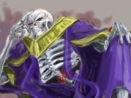 character:ainz_ooal_gown copyright:overlord_(maruyama) general:1boy general:jewelry general:male general:ring general:robe general:skeleton general:solo general:undead medium:4:3_aspect_ratio tagme technical:grabber // 800x600 // 232.0KB