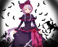 artist:suzu0914 character:shalltear_bloodfallen copyright:overlord_(maruyama) general:1girl general:bonnet general:bow general:dress general:female general:frilled_dress general:frills general:gothic_lolita general:lolita_fashion general:long_hair general:long_sleeves general:looking_at_viewer general:red_eyes general:silver_hair general:solo general:standing medium:high_resolution tagme technical:grabber // 1500x1236 // 925.2KB