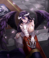character:albedo technical:grabber unknown:OVERLORD unknown:オーバーロード // 4000x4710 // 1.1MB