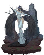 character:albedo copyright:overlord_(maruyama) general:1girl general:ahoge general:black_hair general:black_wings general:breasts general:demon_girl general:dkakrn2 general:dress general:female general:gloves general:hip_vent general:horns general:large_breasts general:long_hair general:looking_at_viewer general:solo general:white_dress general:white_gloves general:wings general:yellow_eyes medium:high_resolution medium:simple_background medium:very_high_resolution technical:grabber // 3100x3900 // 3.0MB