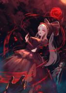 artist:moco_(moco_28) character:shalltear_bloodfallen copyright:overlord_(maruyama) general:1other general:2girls general:black_hair general:black_sclera general:blood general:blood_on_face general:bloody_clothes general:bloody_hands general:death general:dress general:fangs general:fingernails general:floating general:frills general:glint general:glowing general:glowing_eyes general:long_hair general:multiple_girls general:nail_polish general:red_dress general:red_nails general:smile general:vampire general:white_hair metadata:highres technical:grabber // 1240x1754 // 1.9MB
