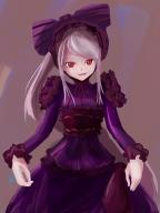 character:shalltear_bloodfallen copyright:overlord_(maruyama) general:1girl general:bonnet general:bow general:dress general:female general:gothic_lolita general:lolita_fashion general:long_hair general:looking_at_viewer general:red_eyes general:silver_hair general:solo general:user_pffe5274 medium:high_resolution medium:simple_background tagme technical:grabber // 1536x2048 // 2.4MB