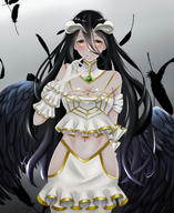 Mangaka:Pixiv_Id_43646470 Series:Overlord character:albedo technical:grabber // 1092x1338 // 883.9KB