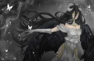 character:albedo copyright:overlord copyright:overlord_(maruyama) general:1girl general:ahoge general:black_hair general:black_wings general:breasts general:cleavage general:demon_girl general:dress general:female general:gloves general:hip_vent general:horns general:large_breasts general:long_hair general:solo general:swilyring general:white_dress general:white_gloves general:wings general:yellow_eyes medium:high_resolution technical:grabber // 2357x1527 // 275.0KB