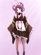 artist:kyer0704 artist:user_eweu8222 character:entoma_vasilissa_zeta copyright:overlord_(maruyama) general:1girl general:antennae general:apron general:black_kimono general:black_skirt general:female general:frilled_skirt general:frilled_sleeves general:frills general:head_tilt general:insect_girl general:kimono general:long_sleeves general:looking_at_viewer general:maid general:maid_headdress general:medium_skirt general:obi general:pantyhose general:pleated_skirt general:purple_hair general:red_eyes general:red_ribbon general:ribbon general:short_hair general:short_kimono general:skirt general:solo general:sunlight general:tied_hair general:victorian_maid general:wa_maid general:wafuku general:waist_apron general:white_apron general:wide_sleeves genre:monster_girl medium:high_resolution tagme technical:grabber // 1050x1400 // 805.7KB