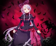 artist:suzu0914 character:shalltear_bloodfallen copyright:overlord_(maruyama) general:1girl general:bonnet general:bow general:dress general:female general:frilled_dress general:frills general:gothic_lolita general:lolita_fashion general:long_hair general:long_sleeves general:looking_at_viewer general:red_eyes general:silver_hair general:solo general:standing medium:high_resolution tagme technical:grabber // 1500x1236 // 1.1MB