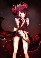 character:entoma_vasilissa_zeta copyright:overlord_(maruyama) general:1girl general:antenna general:arms_behind_back general:insect_girl general:japanese_clothes general:kimono general:legs general:looking_at_viewer general:maid general:monster_girl general:ofuda general:purple_hair general:red_eyes general:thighs technical:grabber // 796x1118 // 111.2KB