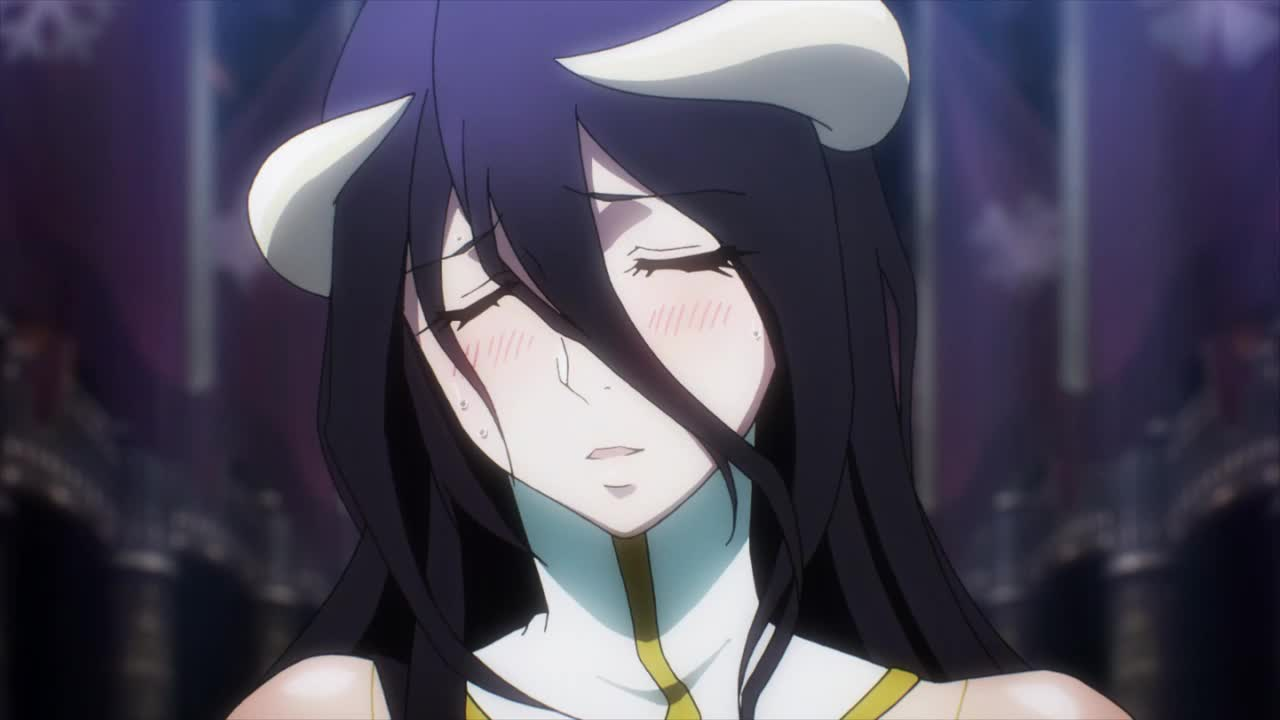 character:albedo copyright:overlord_(maruyama) general:1girl general:black_hair general:blush general:breasts general:eyes_closed general:female general:horns general:large_breasts general:long_hair general:open_mouth general:smile general:yellow_eyes medium:16:9_aspect_ratio medium:animated medium:mp4 medium:no_audio medium:video technical:grabber // 1x1 // 2.6MB