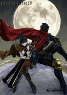 character:ainz_ooal_gown character:narberal_gamma copyright:overlord_(maruyama) general:1boy general:1girl general:armor general:armored_boots general:bangs general:black_eyes general:black_footwear general:black_hair general:black_pants general:blunt_bangs general:boots general:breastplate general:brown_cloak general:brown_pants general:cloak general:crossed_legs general:female general:floating_hair general:full_armor general:full_moon general:gauntlets general:hair_ornament general:hair_ribbon general:helmet general:high_ponytail general:holding general:holding_sword general:holding_weapon general:knee_boots general:long_hair general:male general:moon general:pants general:red_cloak general:rellik_redrum general:ribbon general:riding general:shiny general:shiny_hair general:shirt general:sidelocks general:sitting general:sword general:weapon general:white_shirt general:yellow_ribbon medium:copyright_name medium:high_resolution tagme technical:grabber // 857x1200 // 166.6KB