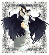 character:albedo copyright:overlord_(maruyama) general:1girl general:amacsa general:black_hair general:black_wings general:breasts general:demon_girl general:demon_horns general:dress general:feathered_wings general:female general:female_only general:female_solo general:gloves general:hip_vent general:horns general:large_breasts general:long_hair general:solo general:white_dress general:white_gloves general:wings general:yellow_eyes technical:grabber // 712x792 // 184.4KB